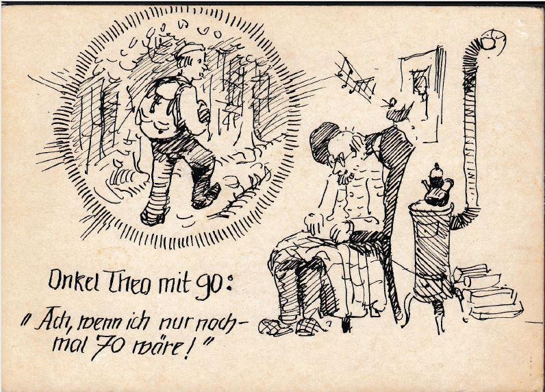 Onkel Theo Schneider Zum 70 Geburtstag Jpg 144 4 Kb Alois Grimm